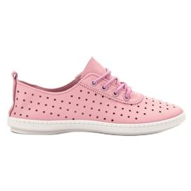 SHELOVET rose Sneakers Femme Ajouré