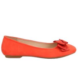 Ballerine orange pour femme 3173 Orange