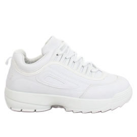 Chaussures de sport blanches D1909 blanches