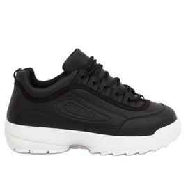 Chaussures de sport noires D1909 noires