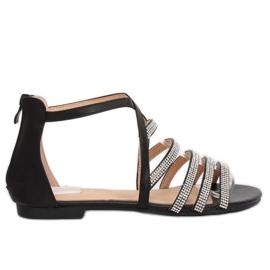 Sandales pour femmes noires LL6339 Black