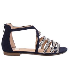 Sandales femme bleu marine LL6339 Blue