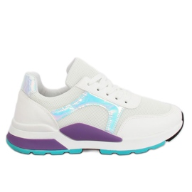 Chaussures de sport blanches PP-46 blanches