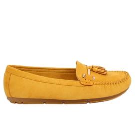 Mocassins jaune L7183 Jaune