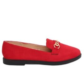 Mocassins Femme Rouge 1631-123 Rouge