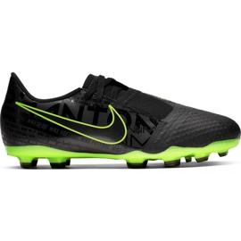Chaussures de foot Nike Phantom Venom Academy Fg Jr AO0362 007 noir - vert