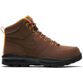 Brun Chaussures Nike Manoa Leather M 454350 203 marron