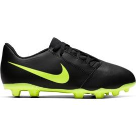 Chaussures de football Nike Phantom Venom Club Fg Jr AO0396 007 noires