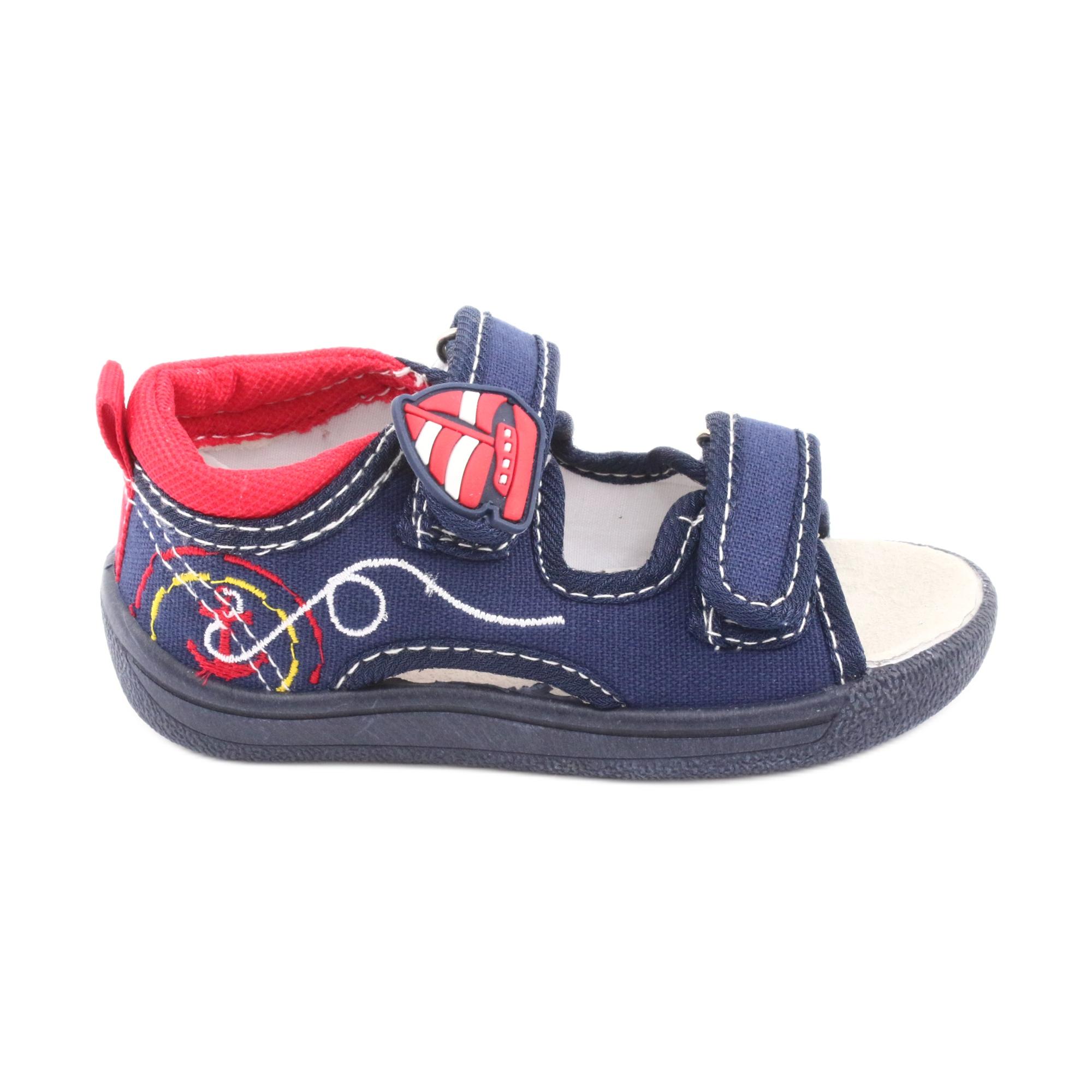 pas cher pour réduction c8977 33d60 American Club Sandales américaines chaussures enfants en cuir semelle