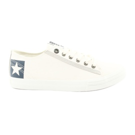 Bottines Big Star blanches 174074