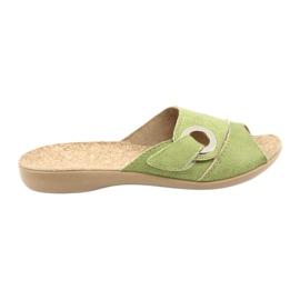 Vert Befado chaussures pour femmes pu 265D008