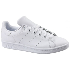 Blanc Adidas Stan Smith Jr S76330 chaussures