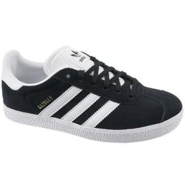 Noir Adidas Gazelle Jr BB2502 chaussures