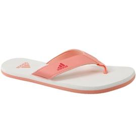 Orange Tongs adidas Beach Thong 2 Jr CP9379
