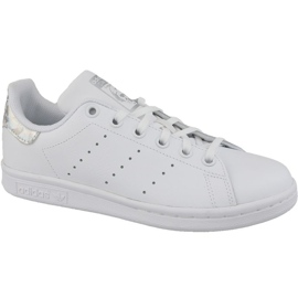Blanc Adidas Stan Smith Jr EE8483 chaussures
