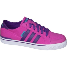 Rose Adidas Clementes K Jr F99281 chaussures