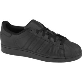 Noir Chaussures Adidas Superstar J Foundation Jr B25724