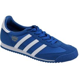 Bleu Chaussures Adidas Dragon Og Jr BB2486