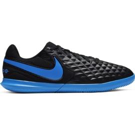 Chaussures de foot Nike Tiempo Legend 8 Club Ic Jr AT5882 004 noir