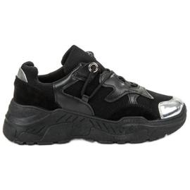 Small Swan Baskets à lacets noir