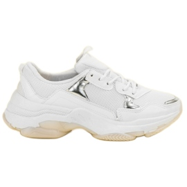 Small Swan blanc Sneakers Casual