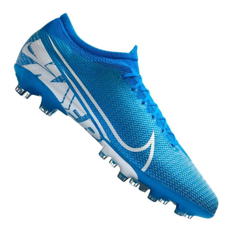 Chaussures de football Nike Vapor 13 Pro AG-Pro M AT7900-414 bleu bleu