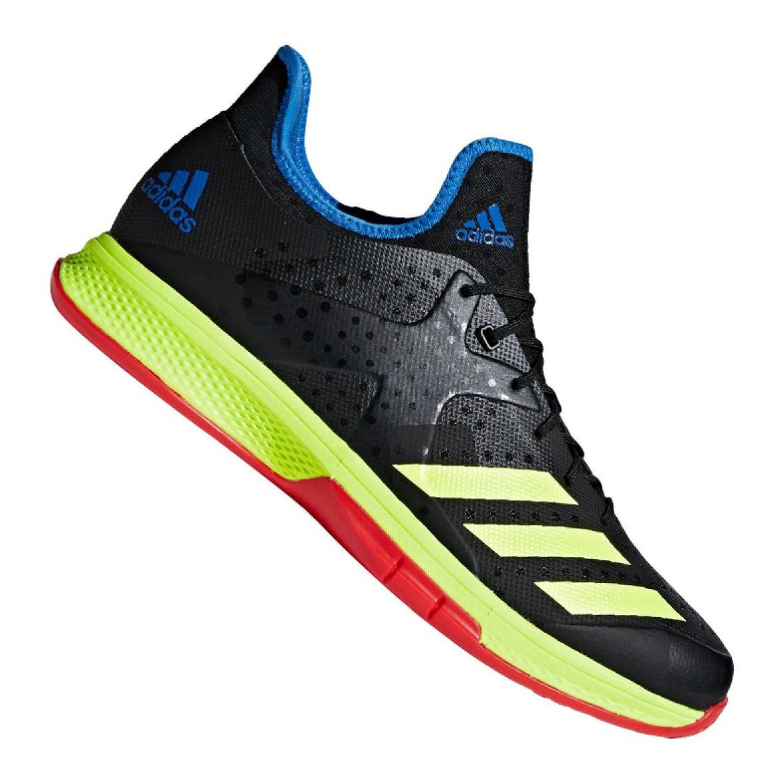 Chaussures de handball Adidas Counterblast Bounce M BD7408 noir noir, jaune