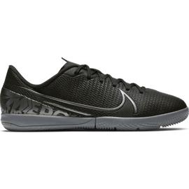 Chaussures de football Nike Mercurial Vapor 13 Academy Ic Jr AT8137 001 noir