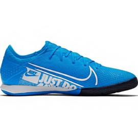Chaussures de foot Nike Mercurial Vapor 13 Pro Ic M AT8001 414 bleu