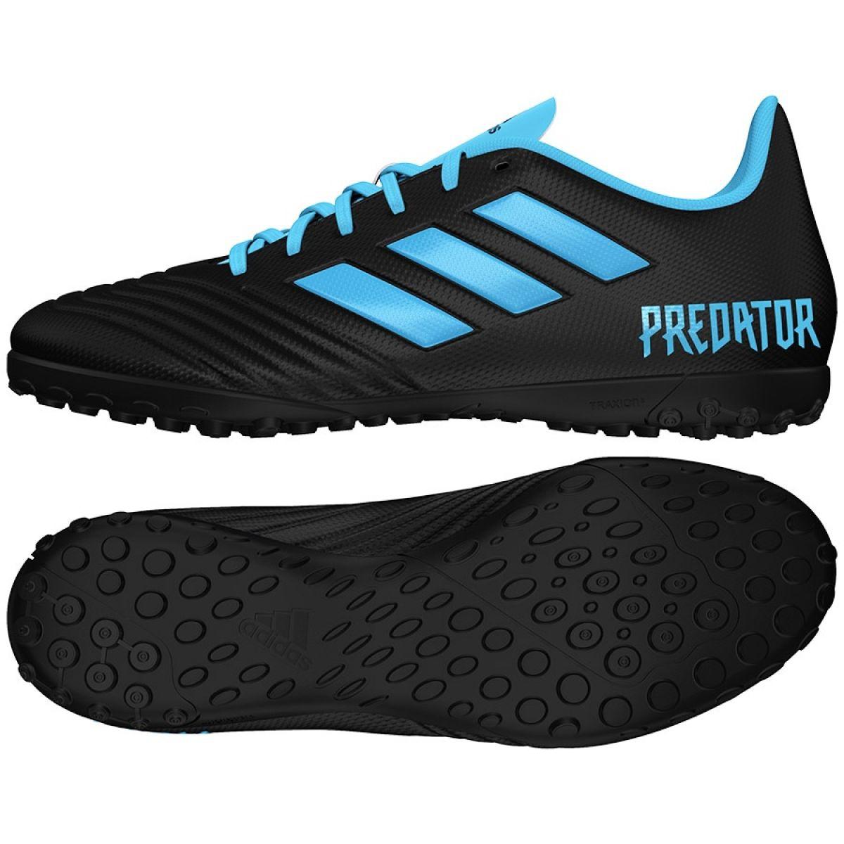 Chaussures de foot adidas Predator 19.4 Tf M F35636 noir noir