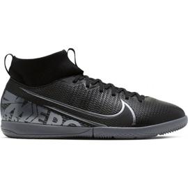 Chaussures de foot Nike Mercurial Superfly 7 Academy Ic Jr AT8135 001 noir