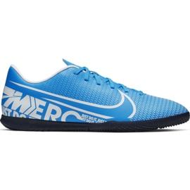 Chaussures de foot Nike Mercurial Vapor 13 Club Ic M AT7997 414 bleu