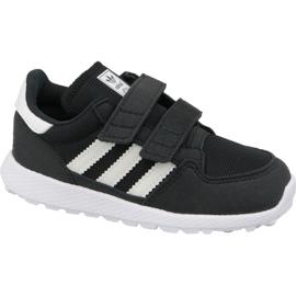 Noir Chaussures Adidas Originals Forest Grove Cf Jr B37749