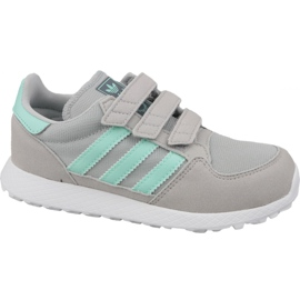 Gris Chaussures Adidas Originals Forest Grove Cf Jr CG6709