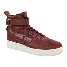 Rouge Nike Air Force 1 Sf Mid M 917753-202