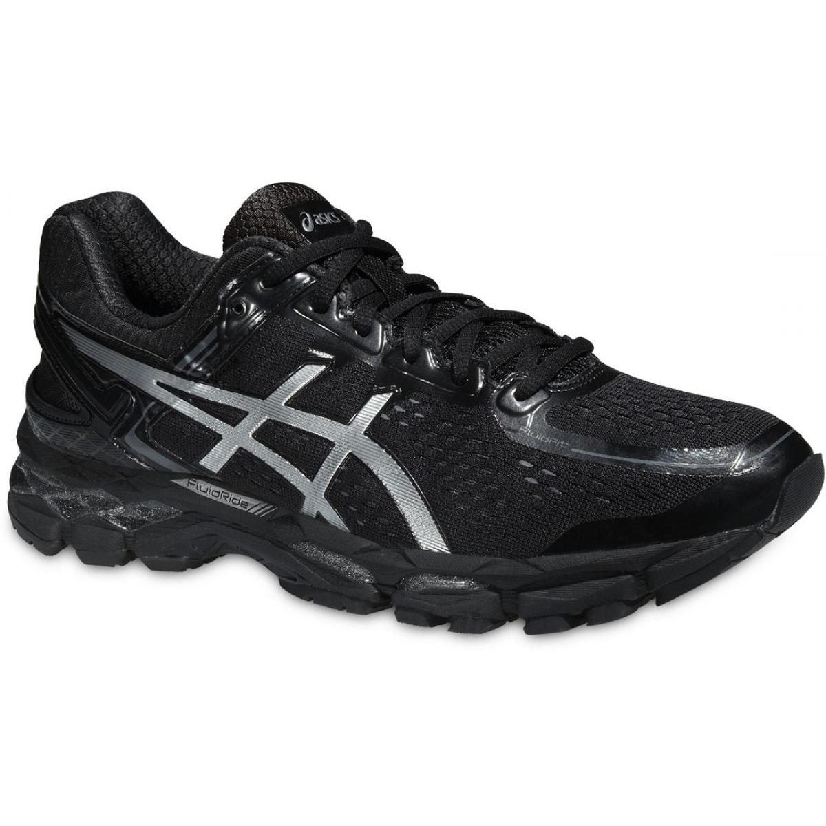 Noir Chaussures de course Asics Gel Kayano 22 M T547N 9993