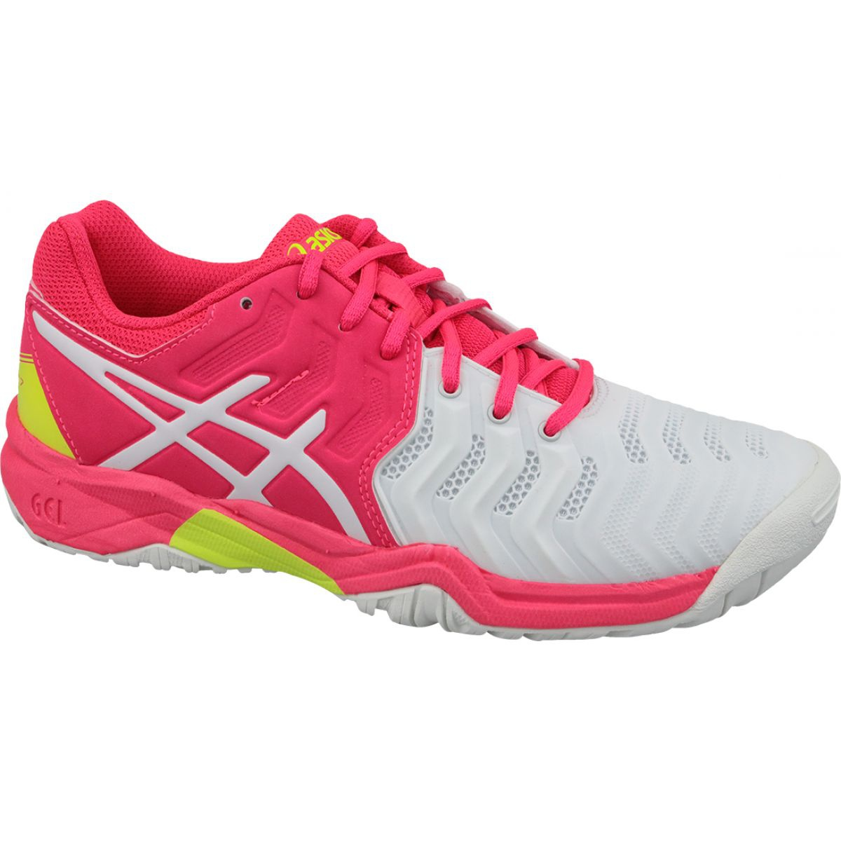 Rose Chaussures de tennis Asics Gel Resolution 7 Gs Jr C700Y 116