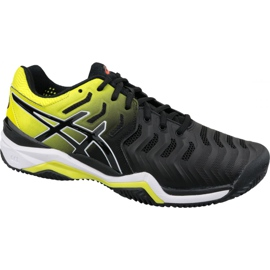 Chaussures de tennis Asics Gel-Resolution 7 Clay M E702Y-003 noir