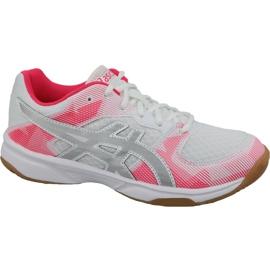Chaussures de volleyball Asics Gel-Tactic Gs Jr 1074A014-101 blanc gris