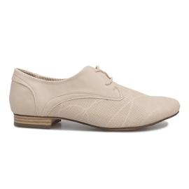 Chaussures beiges Jazz Simone brun