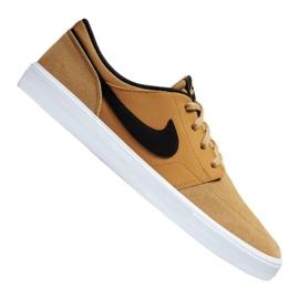 Brun Nike Sb Solarsoft Portmore Ii M 880266-700 chaussures