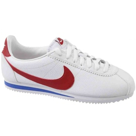 Chaussures Nike Classic Cortez Leather W 807471-103 blanc