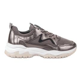 Ax Boxing Chaussures de sport grises