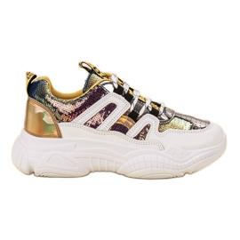 Ax Boxing Sneakers avec des paillettes