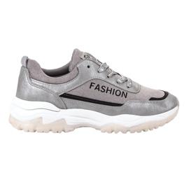 Ax Boxing gris Chaussures de sport de mode