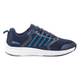 Ax Boxing bleu Chaussures de sport légères