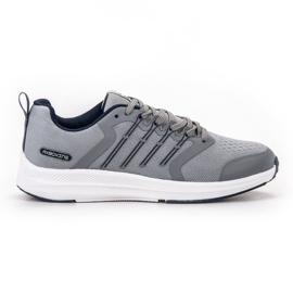 Ax Boxing gris Chaussures de sport légères