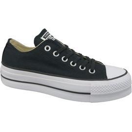 Noir Converse Chaussures All Star Lift W 560250C Chuck Taylor