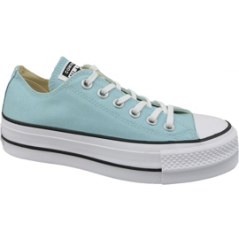 Bleu Converse Chaussures All Star Lift W 560687C de Chuck Taylor