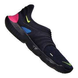 Marine Chaussures Nike Free Rn Flyknit 3.0 M AQ5707-400